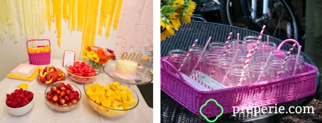 Ombre Party Buffet | preperie.com