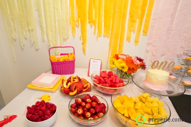 Ombre Tablesetting | preperie.com