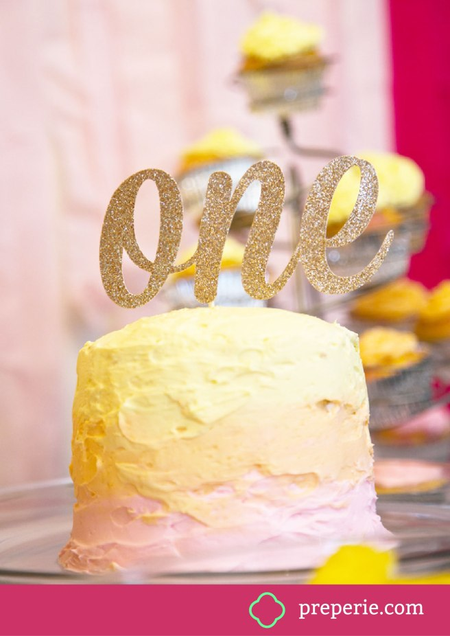 How to Ice an Ombre Cake | preperie.com