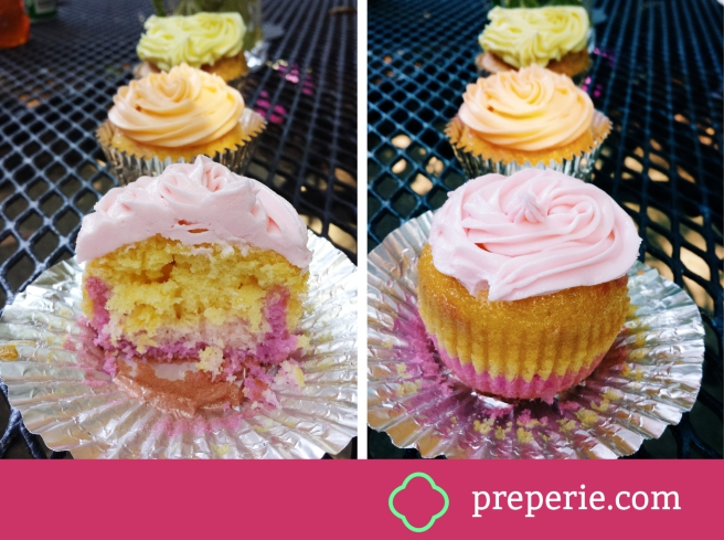 How to Bake Ombre Layered Cupcakes | preperie.com