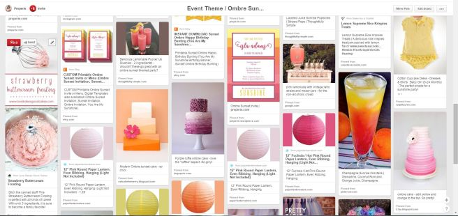Ombre You Are My Sunshine Party Ideas | preperie.com